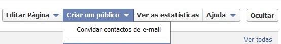 Convidar amigos por email