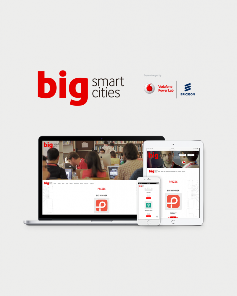 BIG smart cities by Vodafone and Ericsson Projeto